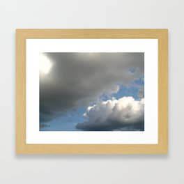 Clouds! Framed Art Print