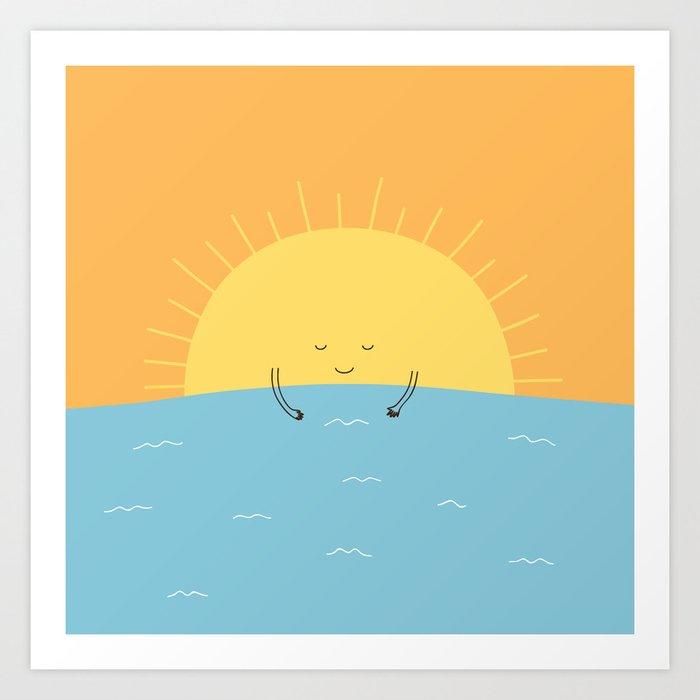 good morning sunshine! Art Print