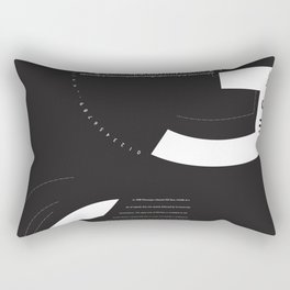 Gill Sans Design Rectangular Pillow