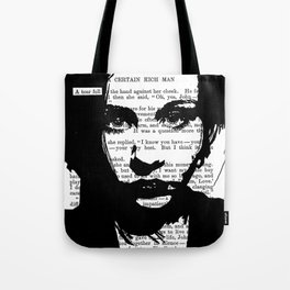 A Tear Fell Tote Bag