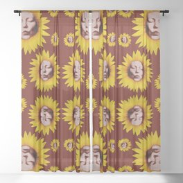 Unconditional Love Sheer Curtain