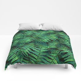 Among the Fern in the Forest Comforters