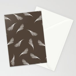 superb lyrebird feathers  Stationery Cards