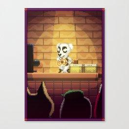Pixel Art series 1 : Little Song Canvas Print
