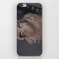 fka twigs iPhone & iPod Skins featuring FKA Twigs by annelise johnson