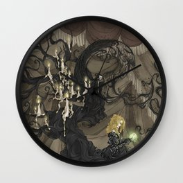 Midnight Circus: The Fortune Teller Wall Clock