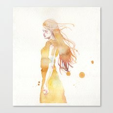 small piece 50 Canvas Print