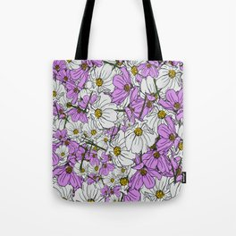 Bouquet Toss Tote Bag