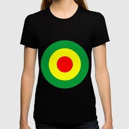 Rasta Reggae Dub Roundel T-shirt