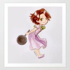 Princess Rapunzel Art Print