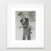 tank girl Framed Art Prints featuring Tank Girl by Sofamermaid