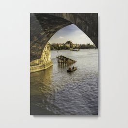 Fishermans Journey Metal Print