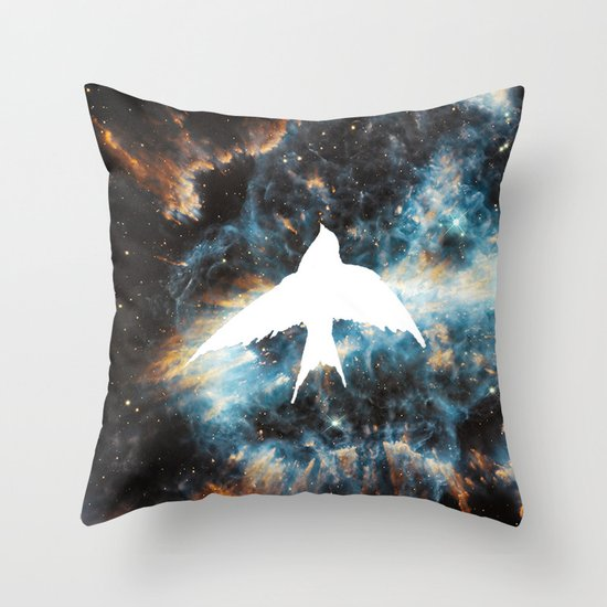 caelum nox Throw Pillow