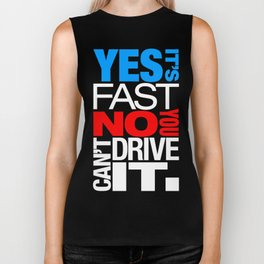 Yes it's fast No you can't drive it v1 HQvector Biker Tank