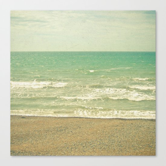 The Sea, the Sea Canvas Print