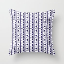 geometric one color Throw Pillow