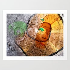 snegel Art Print