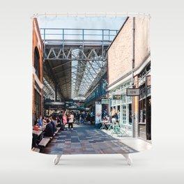 Old Spitalfields Market in London II Shower Curtain