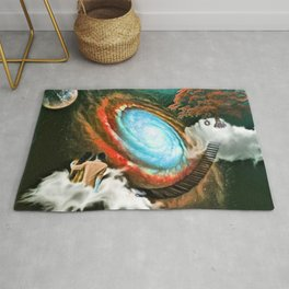 Moments In Space Rug