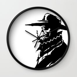 Mysterious Skullboy  Wall Clock
