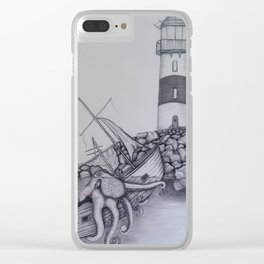 Sinking Ship Clear iPhone Case