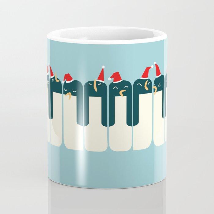 The Penguin Choir Coffee Mug