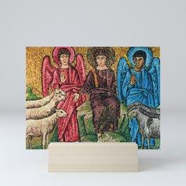 Judgement Day of the Sheep and the Goats Mosiac Basilica of Saint Apollinare Nuovo, Ravenna, Italy Mini Art Print