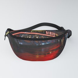 Neon Diner Fanny Pack