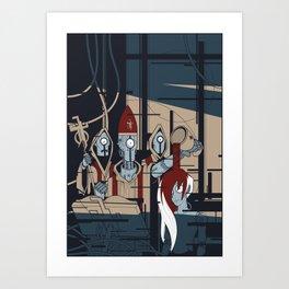 ROBONOMICOM Art Print