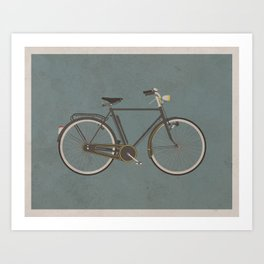 Antique Bicycle Art Print