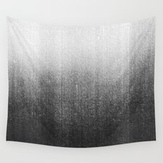 BLUR / abyss / black Wall Tapestry