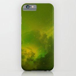 Fantasy Sci-Fi Green Galaxy Universe iPhone Case