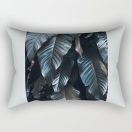 Growth II (blue) Rectangular Pillow