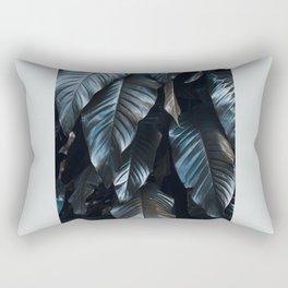 Growth II (blue) Rectangular Pillow