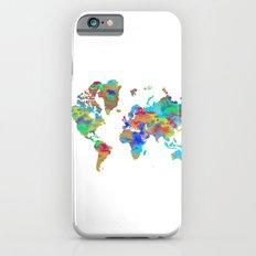World Map 4 iPhone 6s Slim Case