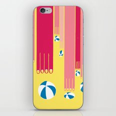 I can bowl a ball, many times in a row. iPhone & iPod Skin