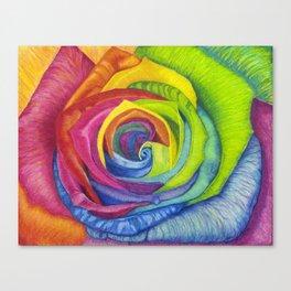 Rainbows of Roses Canvas Print