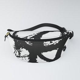 Dance Black and White Fanny Pack
