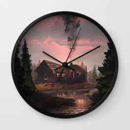 Forgotten House Wall Clock
