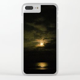 Dark moonlight Clear iPhone Case