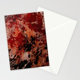 Rustic II - Abstract, metallic artwork Stationery Cards