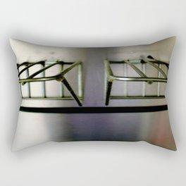 Metal On Metal Rectangular Pillow