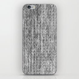 Ink Weaves: Grey Opal iPhone Skin