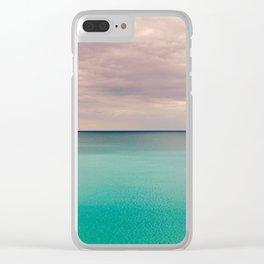 Sunshine sea Clear iPhone Case