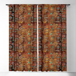 Mohave Native American Art Blackout Curtain