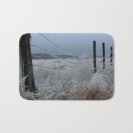 Kansas Icy Fence Bath Mat