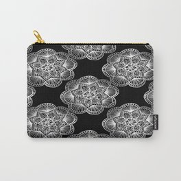 Tangled Mandala Pattern Carry-All Pouch