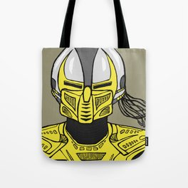 A Sentinel. An Assassin. Tote Bag