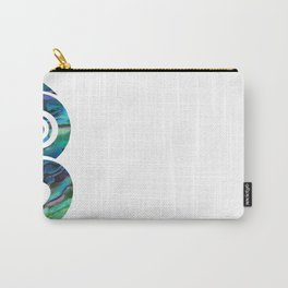 Tiki White Carry-All Pouch