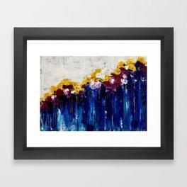 Always Flowers Framed Art Print